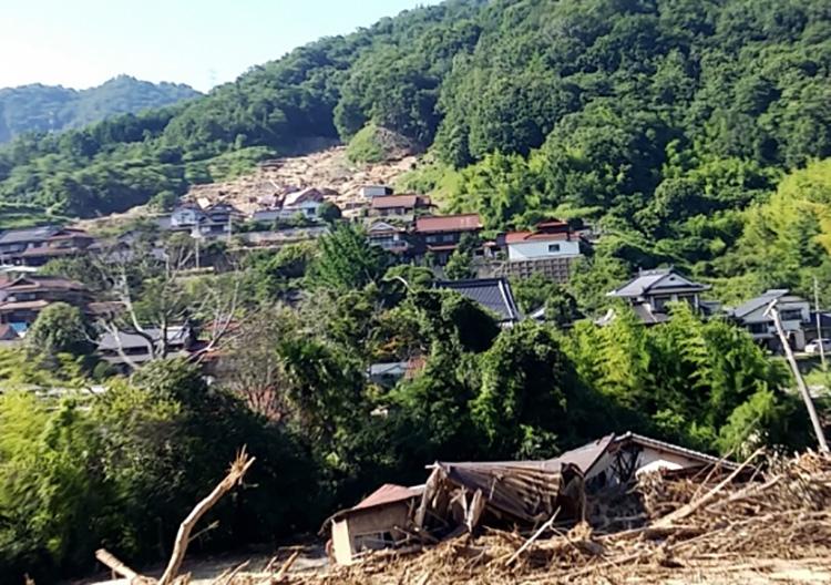 新聞うずみ火8月号は特集「西日本豪雨」